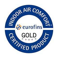 Eurofins Indoor Air Comfort GOLD (Europe) for URSA PUREONE and URSA GEO​